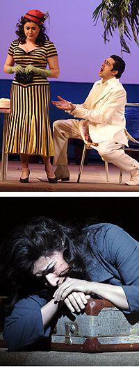 Bartoli Cecilia Classical Music | Top: Cecilia Bartoli as Fiorilla and Ildebrando D'Arcangelo as Selim ...