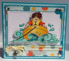 High Hopes Stamps:  Mini Shaker by Donna using Gabriel Love Tubing (T515)