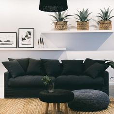 Our 4 seater sofa is made in New Zealand to our own design and is exclusive to Corcovado Store Seater Sofa, Furniture, Modern Furniture, Interior, Sofa, House Styles, Modern, Custom Sofa, Gorgeous Fabrics