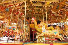 National carousel association noyce gallopers general view of