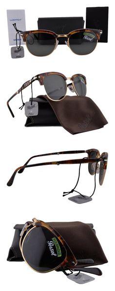 $390 - Persol PO3132S Sunglasses Coffee Havana Vintage Celebration w/Polarized Green Lens 108/58 PO 3132S #apparel #eyewear #persol #prescription #frames #shops #women #departments #men