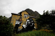 Amazing graffiti by a Secret Artist in Norway (42 pics)