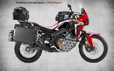 Honda Africa Twin CRF 1000 L da viaggio