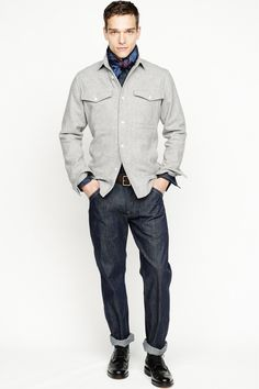 J.Crew | Fall 2013 Menswear Collection | Style.com