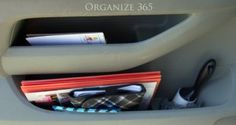 Portable Office In The Car | I spend SO much time in my car. Here are my best car organization ideas.