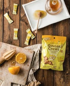 When ginger, honey, and lemon combine to create a sweet and citrus treat. Have you tried our Ginger Chews with Lemon? We think they can even satisfy a sour-candy-craving. ✨#PrinceofPeaceGinger #POPGinger #MadeWithGinger⁠ #Lemon #LemonChews Ginger Benefits, Chewy Candy, Prince Of Peace, Sour Candy, Sweet And Spicy, Healthy Treats, Cravings, Sweet Tooth, Lemon