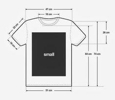 Tips Untuk Ukuran Kaos Pria/Wanita ~ fabian studio