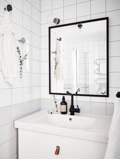 Bathroom Inspiration: Scandinavian Bathroom Decoration
