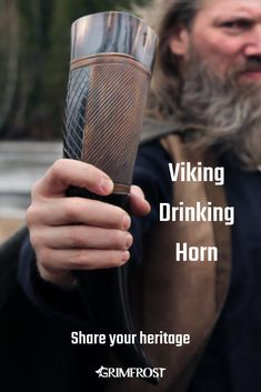Carefully polished and cleaned top quality drinking horn that is safe to drink from. The shape and colour of the horn may differ from that in the picture. Hand Tattoos, Cute Tattoos On Wrist, Cute Small Tattoos, Rose Tattoos, Unique Tattoos, Viking Life, Viking Art, I Love Beards, Viking Drinking Horn