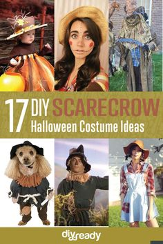 17 diy scarecrow costume ideas, see more at http://diyready.com/diy-scarecrow-costume-ideas