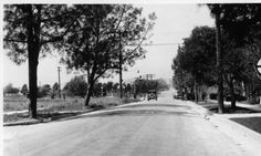 Alhambra Road grade crossing, S.P. Pasadena Branch, Alhambra, looking west on Alhambra Road, Los Angeles County, 1926. http://digitallibrary.usc.edu/cdm/ref/collection/p15799coll59/id/742