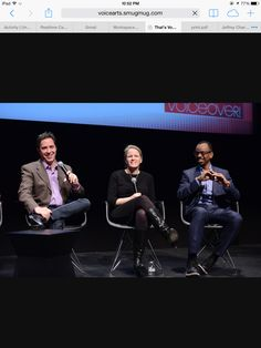 New York City, That's Voice Over, with Jeffrey Umberger of Umberger Agency, Trish Scanlon of Travel Channel, and Rudy Gaskins of Push Creative and co-founder of The Voice Arts Awards. Talent Agent, Arts Award, Travel Channel, Co Founder, New York City, The Voice, Awards, Concert, Creative