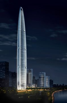 The Wuhan Greenland Center, at 606 meters will likely be China's third-tallest building, and the fourth tallest in the world, when completed in 2016.
