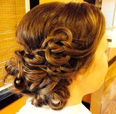 Twist and tie the knot bridal hair!