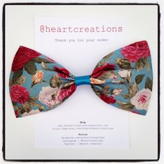 Ladies/Girls Hairbows www.etsy.com/shop/atheartcreations