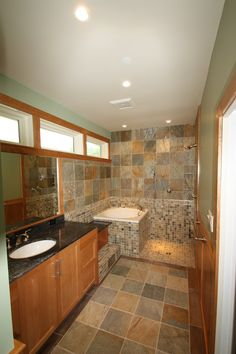 small japanese soaking tub and shower | Splendid Soaking Tubs decorating ideas for Bathroom Traditional design ...