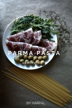 15 minuteS PARMA PASTA by Harpal​ #HARPAL #harpalmag #harpalgood #harpalstore #food #culinary #recipes #italian #pasta #ham #parma #spaghetti  http://www.harpalmag.com/food/15-minutes-pasta-parma