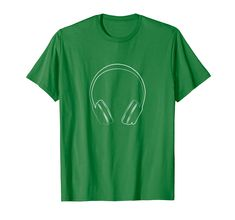 Music Headphones T-Shirt Music Lovers Gift Idea Tee Shirt Cool T Shirts, Funny Shirts, Tee Shirts, Tees, Gift For Music Lover, Music Lovers, Music Headphones, Dialysis, Family Humor
