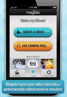 Magical video editing in a click! Our library is getting over 50 Ipads this fall. This app will be TERRIFIC for video use.