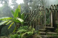 Las Pozas Sculpture Garden, Xilitla, Central Mexico