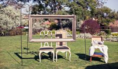 Haz tu propio photocall #boda #diy #decoración