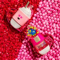 """Bath & Body Works on Instagram: """"The sweetest face-off you'll see today! Are you team 🥤 or 🍬 ?"""" Bath Body Works, Valentine Decorations, Sleepover, Happy Valentines Day, Routine, It Works, Candle, Skin Care, Business"""