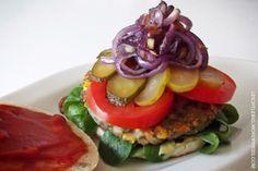 Burger vegan & glutenfrei / glutenfree