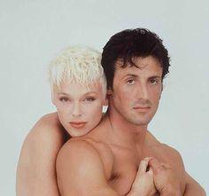 Brigitte Nielsen & Sylvester Stallone, 1985