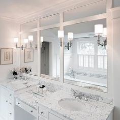 Double Sink Vanity With Make Up Area | Austin Bathroom Vanity Design Ideas,  Pictures, Remodel And Decor | Kitchen Living Room | Pinterest | Bathroom  Vanity ...