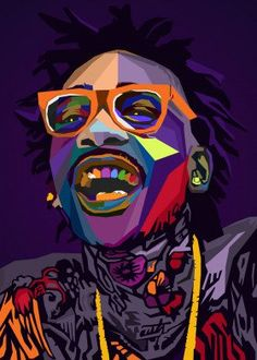 "Beautiful ""Wiz Khalifa WPAP Pop Art"" metal poster created by NGUYEN DINH LONG. Arte Hip Hop, Hip Hop Art, Wizz Khalifa, Pop Art Fashion, Pop Art Wallpaper, Rapper Art, Pop Art Posters, Dope Wallpapers, Hipster Art"
