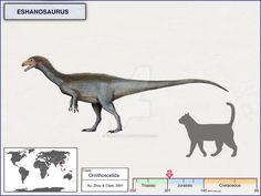 Eshanosaurus by cisiopurple on DeviantArt Dragons, Reptiles, Jurassic Park World, Dinosaur Art, Prehistoric Creatures, Star Vs The Forces, Old World, Moose Art, Deviantart