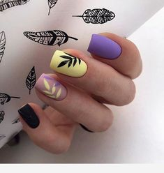 In search for some nail styles and ideas for your nails? Here's our set of must-try coffin acrylic nails for cool women. Stylish Nails, Trendy Nails, Cute Nails, Summer Acrylic Nails, Best Acrylic Nails, Nails Now, Gel Nails, Romantic Nails, Dream Nails