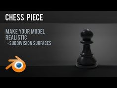 This is a simple exercise for beginners to practice smooth and flat shading techniques and also get to grips with basic modelling. Picture Editing Software, Editing Pictures, Shading Techniques, Building Images, Blender Tutorial, Model Train Layouts, Blender 3d, Chess Pieces, Create Image