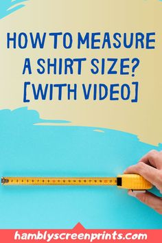 Learning how to measure a shirt the right way is an essential skill for everyone. Check out this pin and know more about how to measure a shirt size with a tutorial video included. #tshirt #shirtsize Quilting Room, Quilting Projects, Quilting Designs, Custom T, Custom Shirts, Fabric Cutting Table, Screen Printing Machine, Cricut, Man Quilt