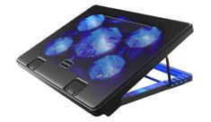 Kootek Laptop Cooling Pad Cooler Pad Chill Mat 5 Quiet Fans LED Lights and 2 USB Ports Adjustable Mounts Laptop Stand Height Angle Laptops For Sale, Best Laptops, Laptop Cooler, 17 Laptop, Laptop Screen Repair, Laptop Brands, Laptop Cooling Pad, Laptop Storage, Cooler Master