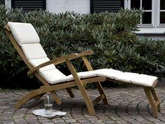 Steamer Liegestuhl von Skagerak Design Team - Designermöbel von smow.de