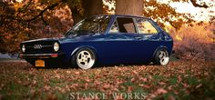 Audi 50 1977 http://www.stanceworks.com/2014/03/americas-only-1977-audi-50/