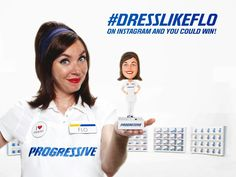 Progressive Insurance - Google+ - You could win a Flo bobblehead! Upload your pic to…