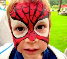 örümcek Adam Yüz Boyama örnekleri Yuz Boyama Face Painting Ve