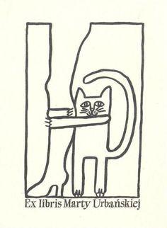 Ex libris cat