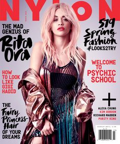 Rita Ora (!!!) is NYLON's March cover star