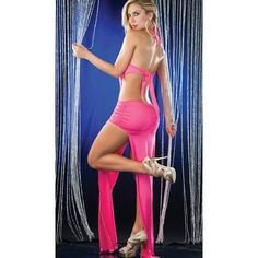 Trendylook : Rochie de seara, roz sy 2894 Sexy Party Dress, Sexy Dresses, Fancy Dress, Party Dresses, Lingerie Gown, Clubwear Dresses, Floor Length Dresses, Celebrity Gossip, Beautiful Gowns