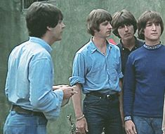 "In my head i imagined someone saying something rude to the Beatles and Ringo is just like ""oh hell no"""