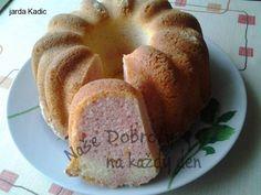Recept Jogurtová bábovka s pudinkovým práškem - Naše Dobroty na každý den | Recepty online Bagel, Doughnut, Bread, Food, Meal, Brot, Eten, Breads, Meals