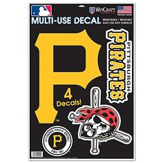 Pittsburgh Pirates Window Cling