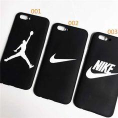 ナイキ アイフォン8ケース ブラック NIKE iPhone8/8plusケース ペアルック エアジョーダン iPhone7カバーケース