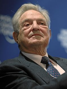 billionaire, real name - George Schwartz - alias Soros. He gets his jollies being a puppet master. Made his money  fraudulently w/money laundering (appears), with shell co's, insider trading, front activist progressive org's he started & funds. Funds Obama & Clintons and others. Soros gets people uneducated n historic info misleading them to do alot of his dirty work as radicals like Ferguson ($33 million he funded). His puppets break the laws, get shot, beat up, go to jail, do all his work…