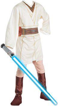 Obi-Wan Kenobi no podía quedarse fuera del catálogo de #disfraces. Disponible en idealo.es desde 24,77€.