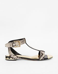 Ted Baker Psaphire Snake Print Sandals - Is this the perfect sandals or what? http://asos.do/9B8QdW