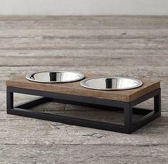 elevated pet bowl cat food bowl mini dog food bowl designer